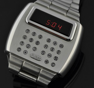 The 1977 Pulsar Calculator Watch